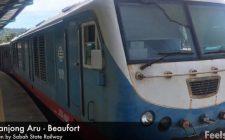 Like a Local Train Ride Video from Tanjong Aru Kota Kinabalu to Beaufort